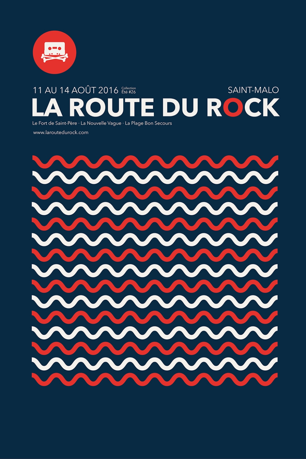 La Route du Rock Affiche